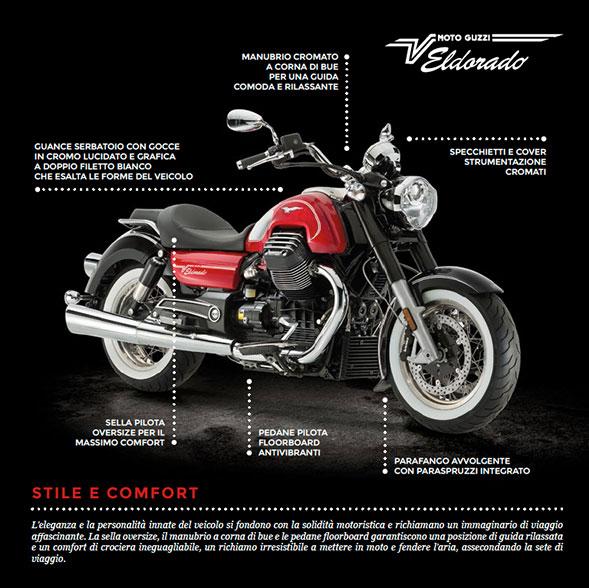 Scarico Cafe Racer Turn Out per Moto Guzzi California cromo